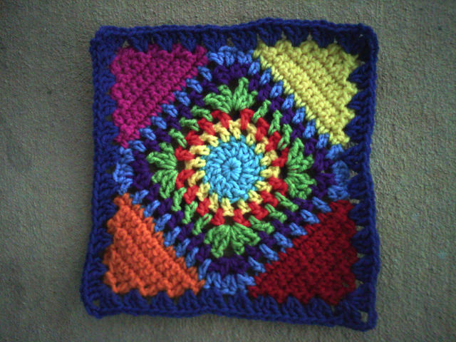 my original crochet square c-2