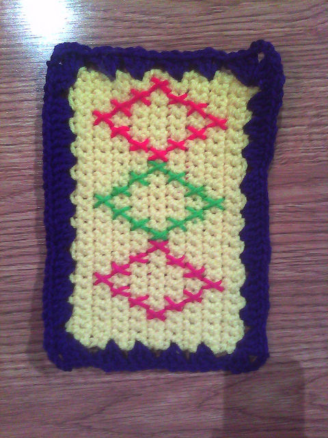 crochet rectangle for a crochet blanket
