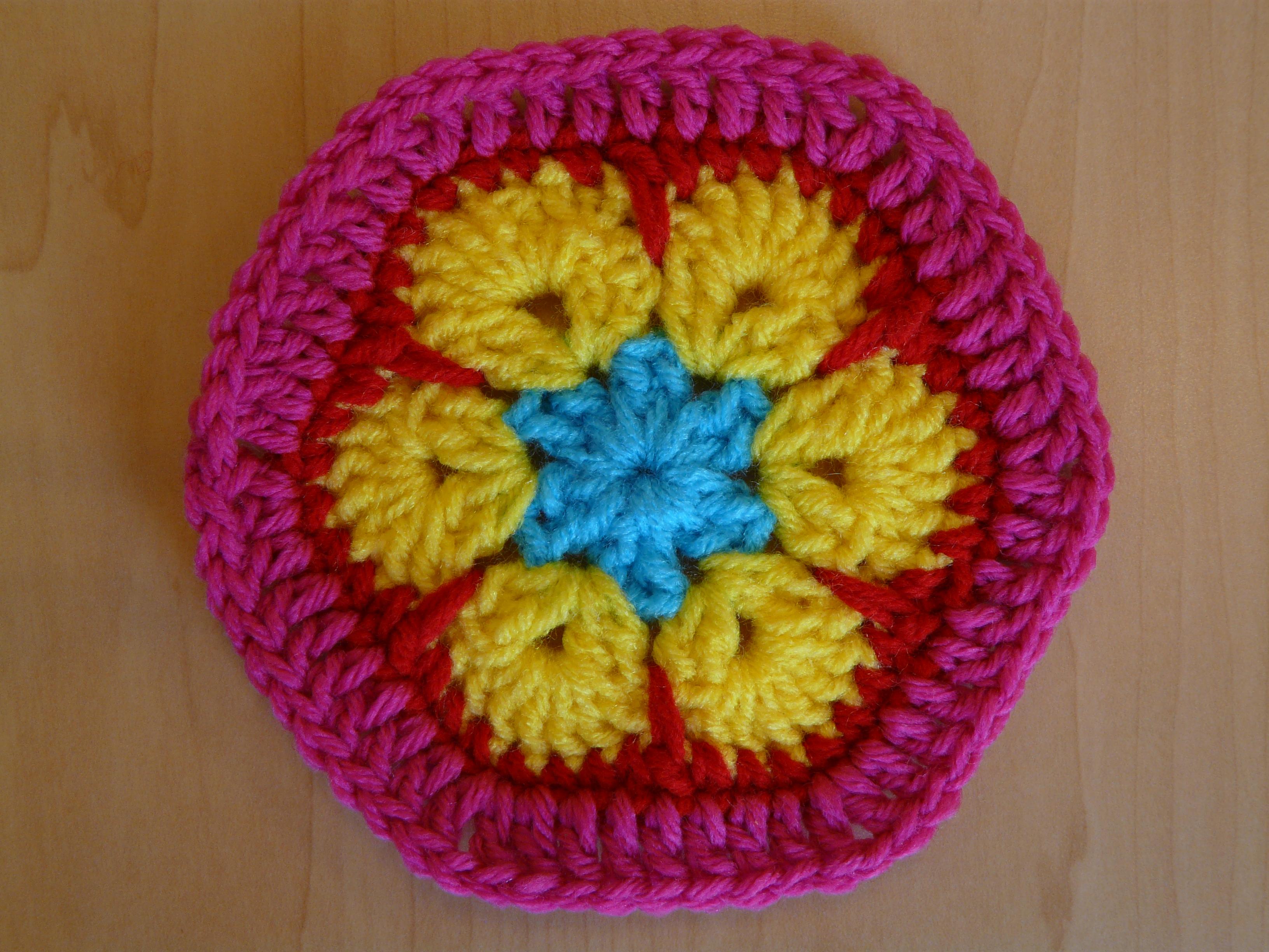 Hexagon Crochet Bag Pattern : Pics Photos - Flower Hexagon Bag Crochet Pattern