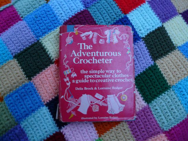 The Adventurous Crocheter, crochet book