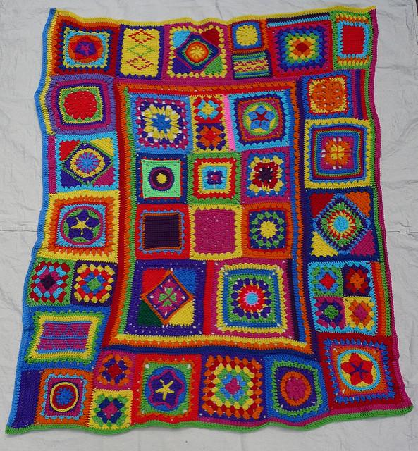 crochet squares crochet blanket