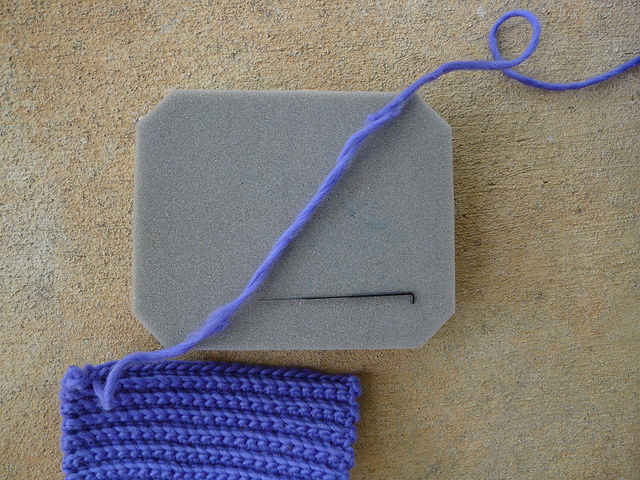 how to splice wool yarn