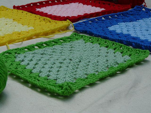 granny square crochet square