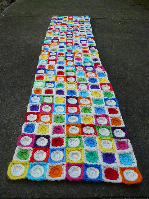 Seven rows the long view of crochet in real life