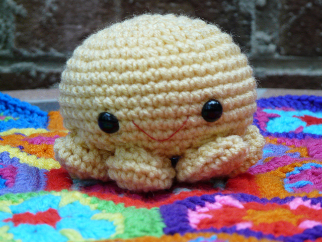 Paul a crochet octopus