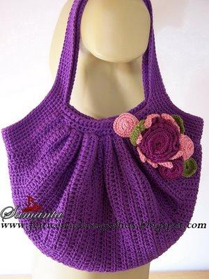 So You Want To Make Samantas Fat Bag Crochetbug