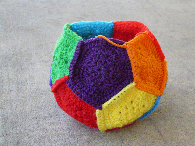 crochet pentagons crochet dodecahedron