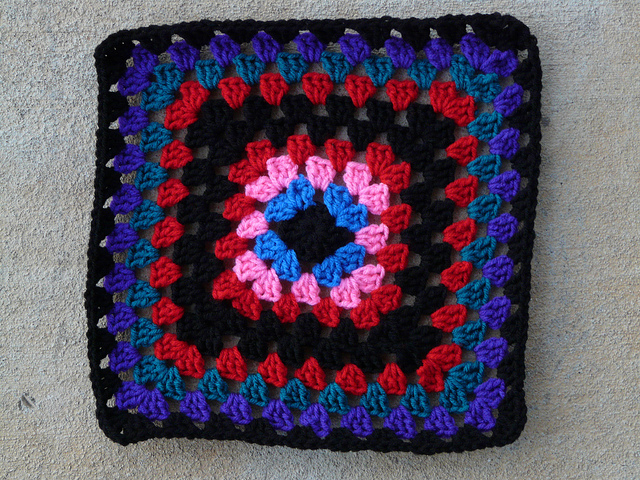 crochetbug, crochet squares, crochet square, granny square, granny squares,  crochet color inspiration
