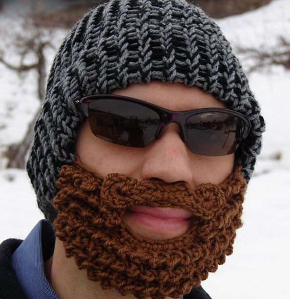 Beanie Hat With Beard Crochet Pattern Free : Pics Photos - Crochet Bearded Beanie Pattern Free Extra Small