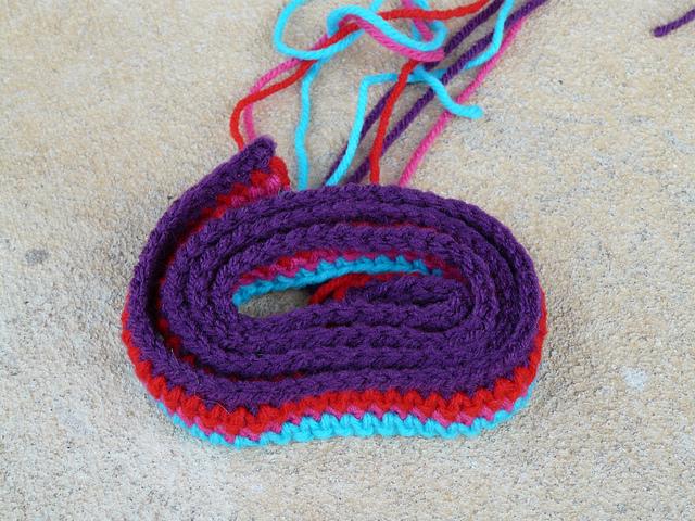 crochet strap