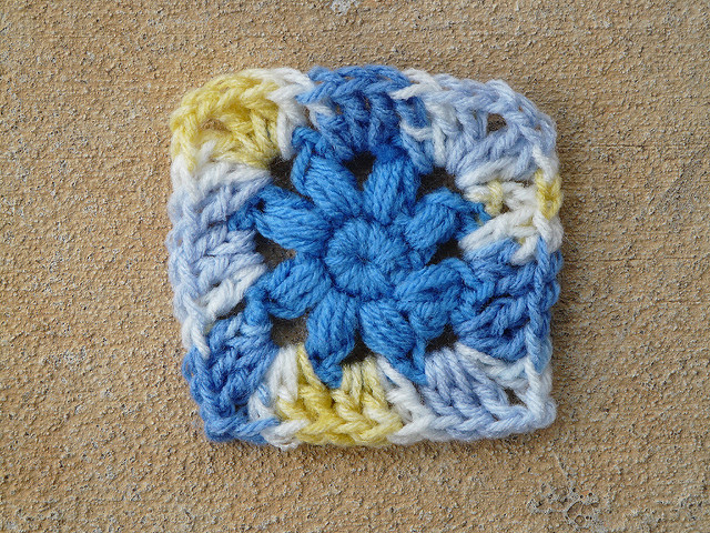 crochet squaring off