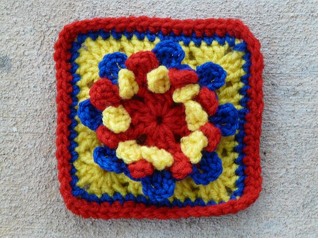 crochet flower crochet squares granny square