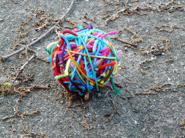 crochetbug, magic yarn ball, scrap yarn aesthetic, scrap yarn crochet, multicolor crochet
