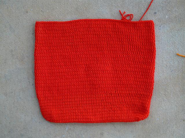 crochet purse body