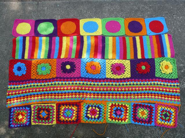 crochet groovyghan crochet strips