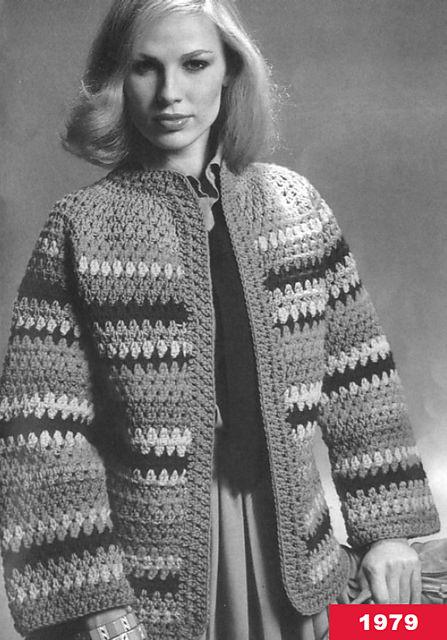 crochetbug, crochet sweater, crochet stripes, crochet cardigan, free crochet pattern