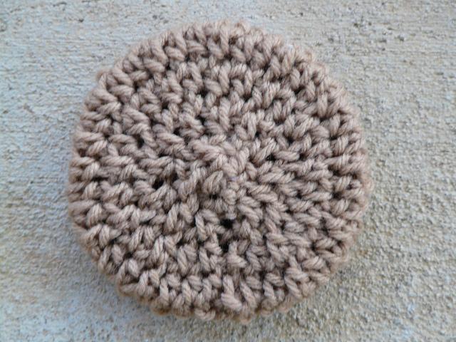 crochet oatmeal cookie
