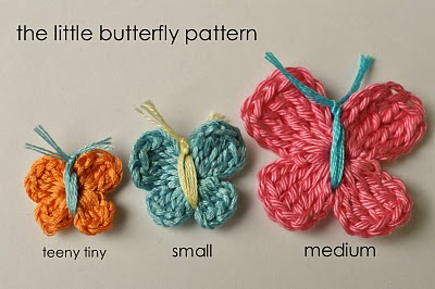 little butterfly pattern