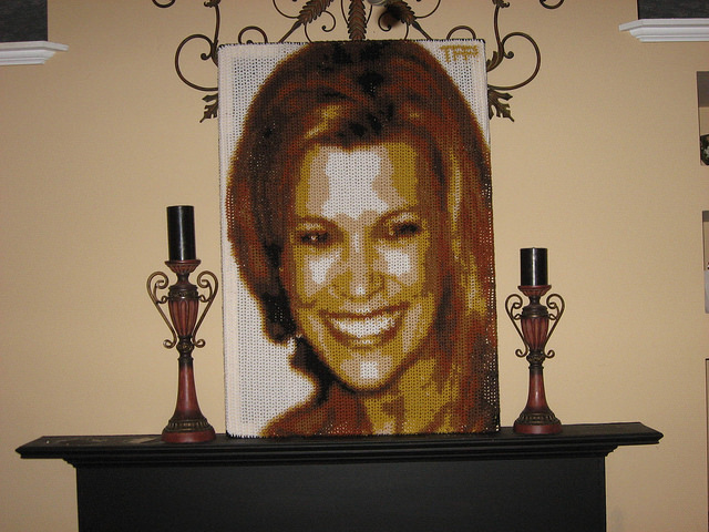 Vanna White crochet by numbers