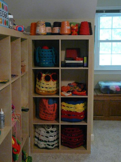 crochetbug, crochet tools, crochet empire, ikea expedit