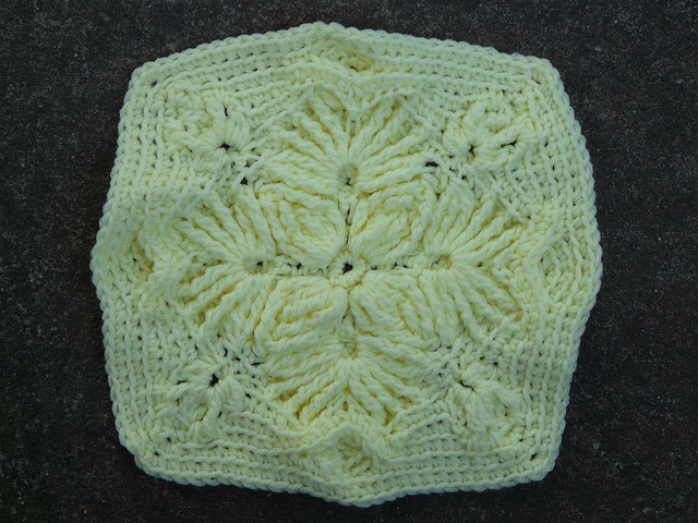 crochetbug, overlay crochet swatch, textured crochet