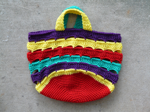 crochetbug, crochet stash bag, crochet bag, crochet stash basket, crochet basket, lifesavers