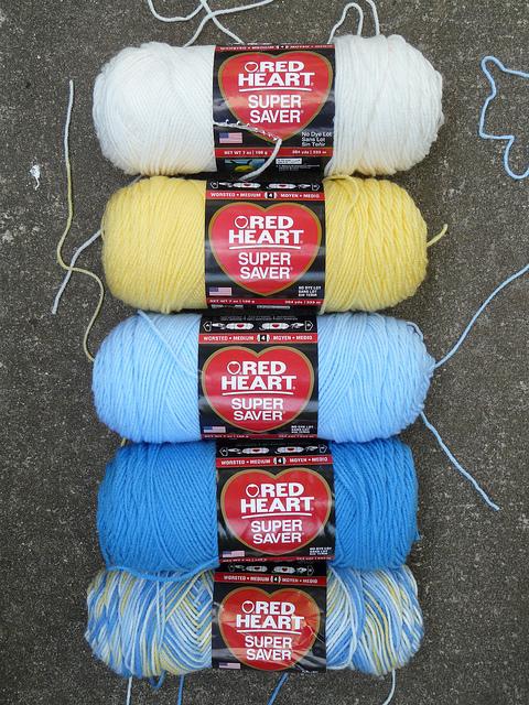 red heart yarn for crochet