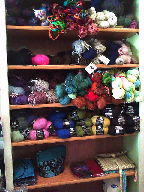 crochetbug, local yarn shop, lys, felting supplies