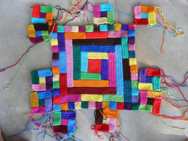 crochet quilt design