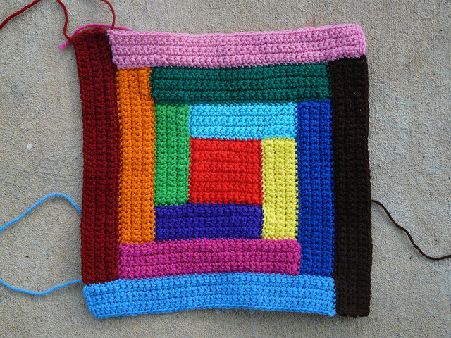 crochet square crochet rectangles