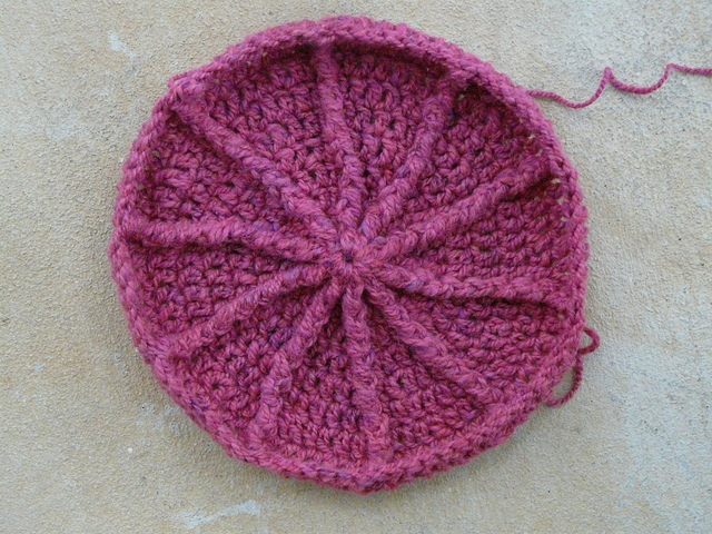 Eileen Tepper Crochet Newsboy Hat