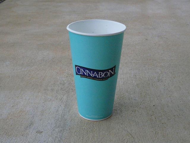 cinnabon drink cup