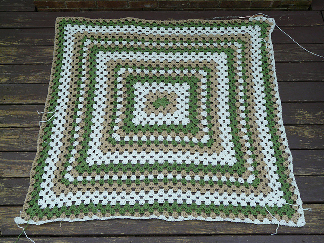 crochetbug, crochet foundation chain, crochet chain, crochet rectangle, granny rectangle