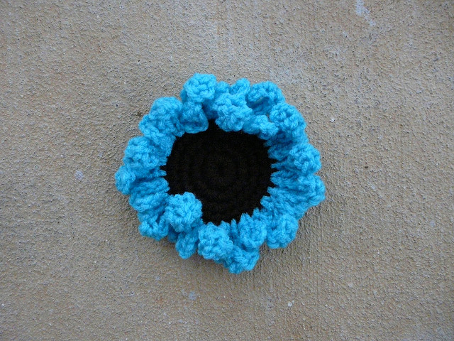 crochet flower crochet sunflower