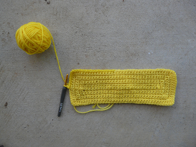 crochetbug, crochet, yellow yarn, yarn stash, crochet purse, crochet tote, crochet bag