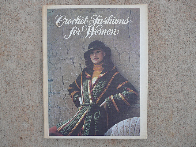 fashions for women crochet book