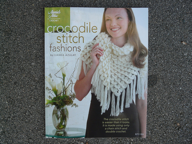 crocodile stitch crochet book