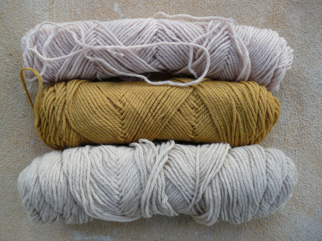 neutral vintage yarns