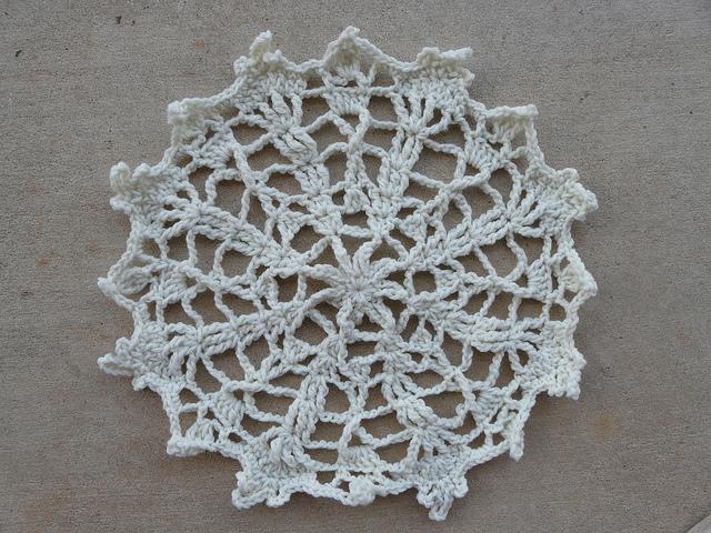James Walter's beginner's crochet project
