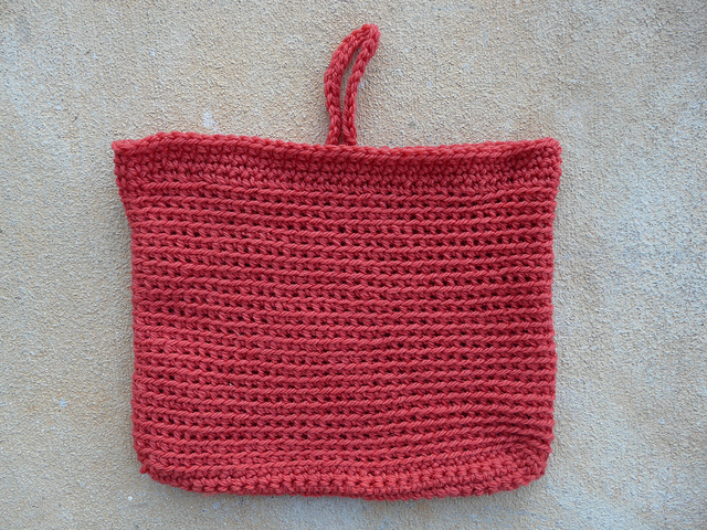 future felted crochet purse