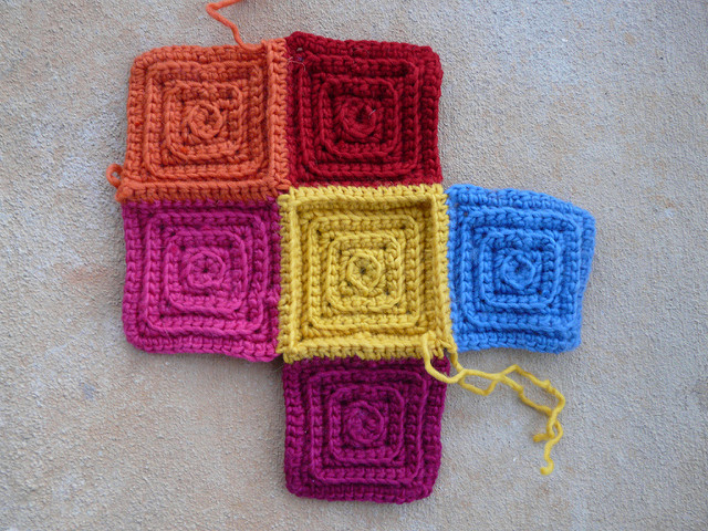 crochetbug, textured crochet squares, textured crochet blanket, textured crochet afghan, textured crochet throw, crochet rug