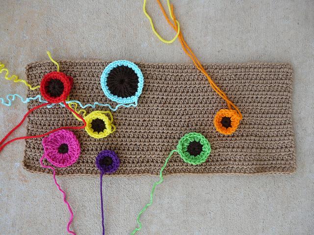 crochet dots