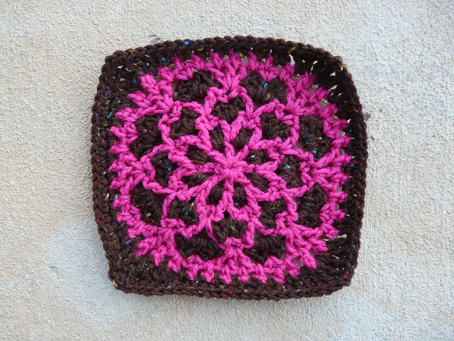 Priscilla Hewitt's Velvet and Lace Square, one of the hidden crochet treasures I found