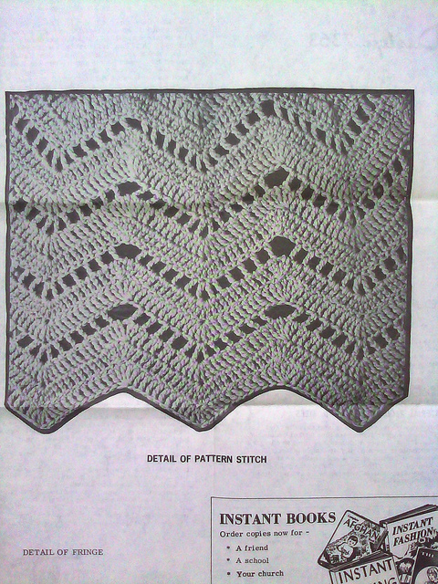 crochet ripple stitch pattern