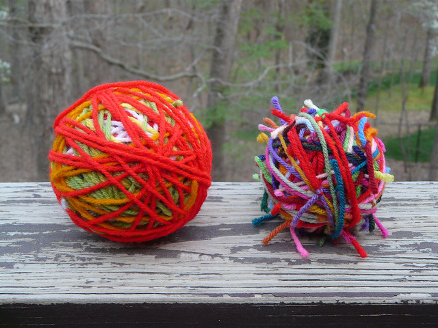 crochetbug, crochet, crocheted, crocheting, yarn scraps