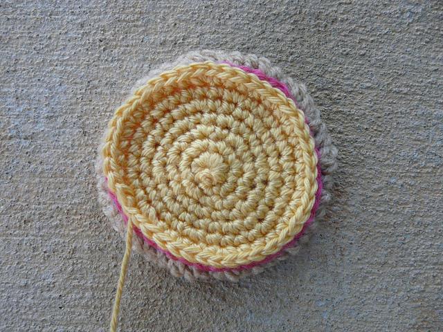 crochet icing crochet cookie