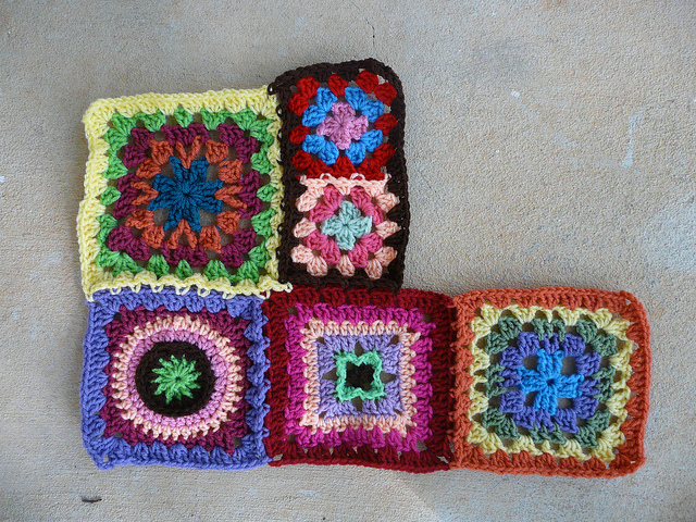future crochet beach blanket