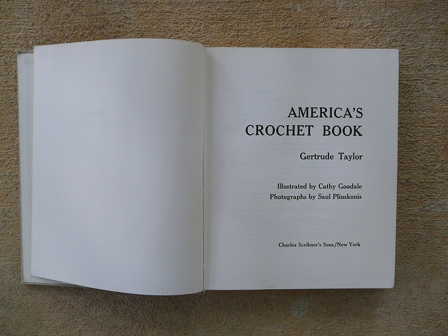 Title page America's Crochet Book