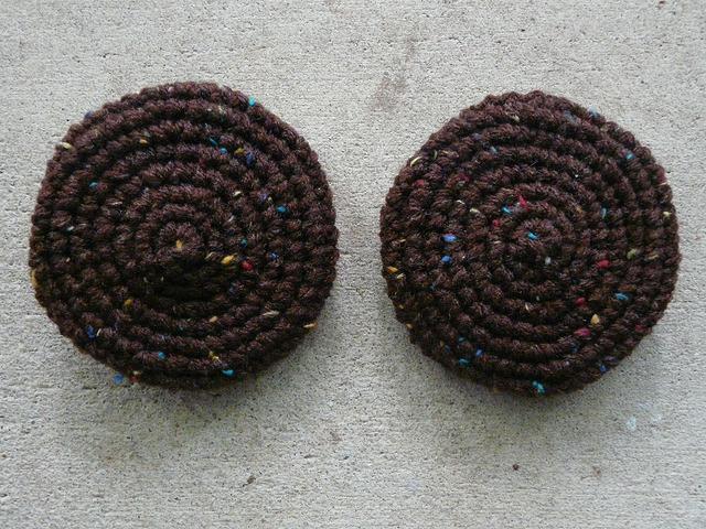 chocolate crochet cookies