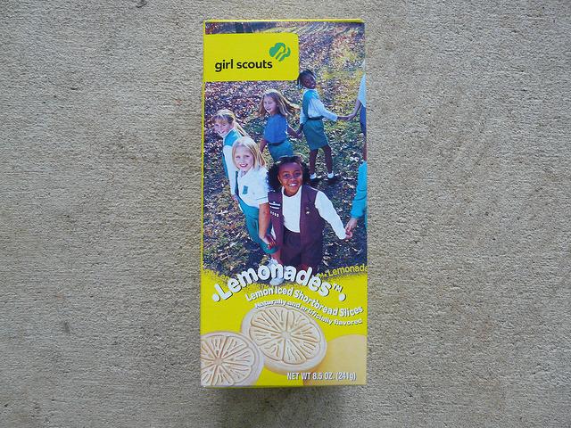 A box of Lemonades